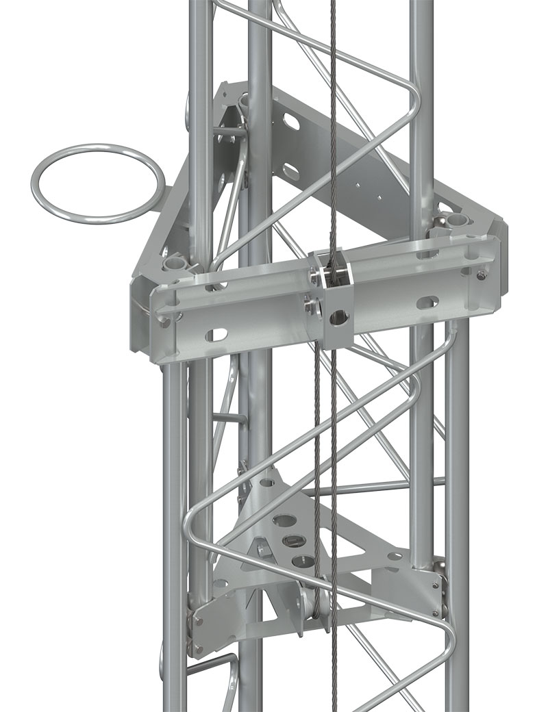 Section mounting Assembly